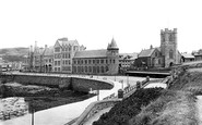 Aberystwyth, The College And St Michael's Church 1921