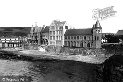 Aberystwyth, The College From The Castle 1899