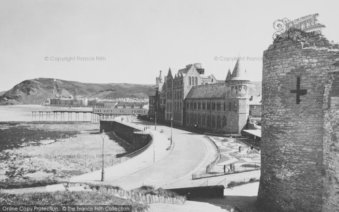 Photo of Aberystwyth, The Extended Promenade c.1950