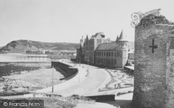 Aberystwyth, The Extended Promenade c.1950