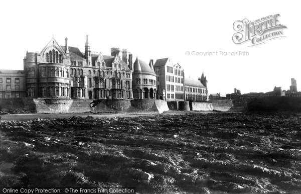 Photo of Aberystwyth, The Old College 1899