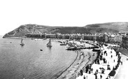 Aberystwyth, The Parade 1899