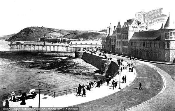 Photo of Aberystwyth, The Parade 1903