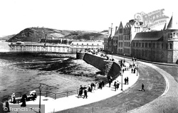 Aberystwyth, The Parade 1903