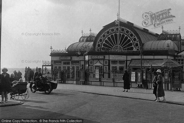 Aberystwyth, The Pier Entrance 1925