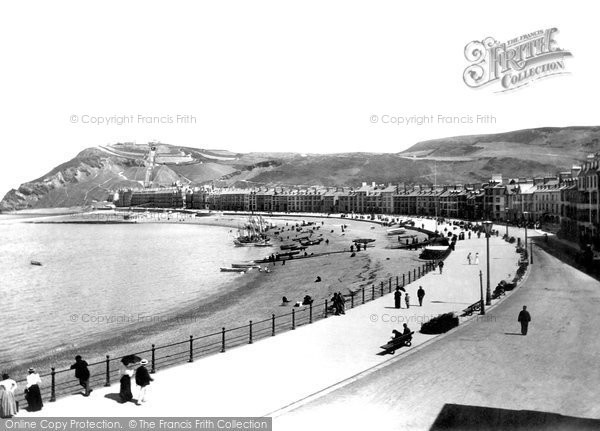 Photo of Aberystwyth, The Promenade 1897