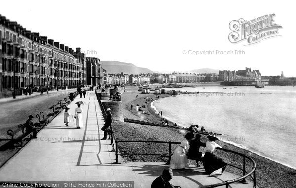 Photo of Aberystwyth, The Promenade 1899