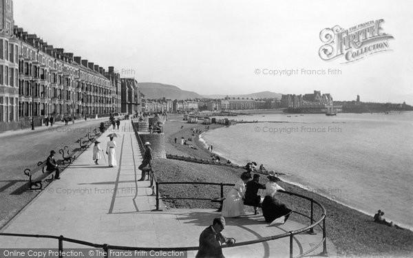 Photo of Aberystwyth, The Promenade 1899