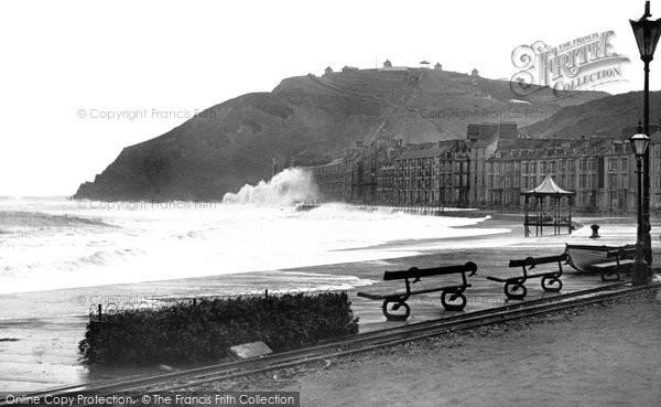 Aberystwyth, The Promenade 1903