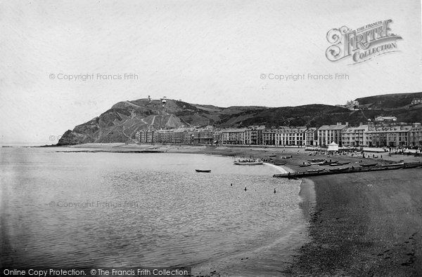 Photo of Aberystwyth, The Promenade 1921