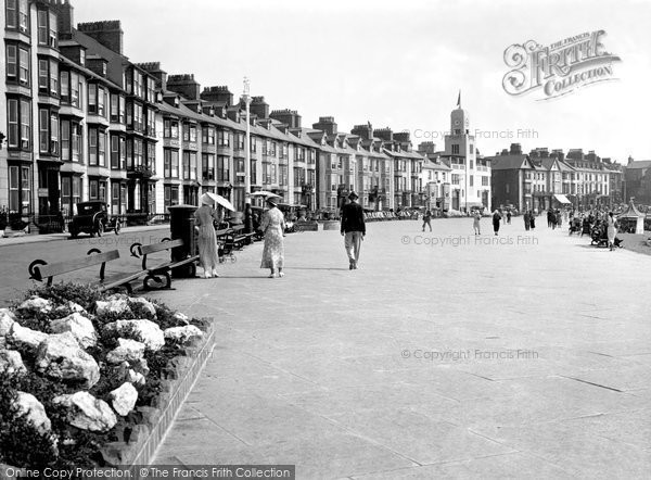 Photo of Aberystwyth, The Promenade 1934