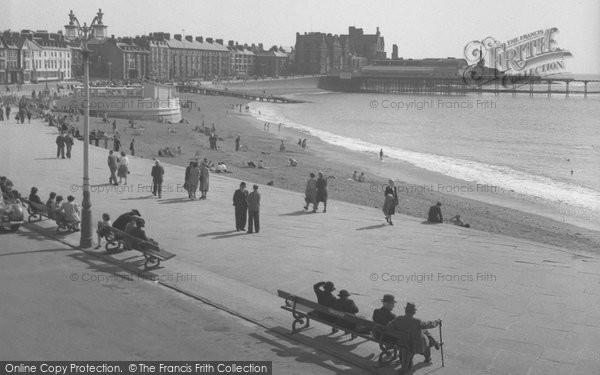 Aberystwyth, The Promenade 1949