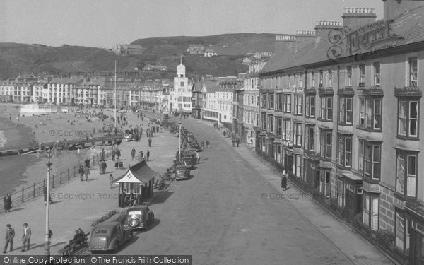 Photo of Aberystwyth, The Promenade 1949