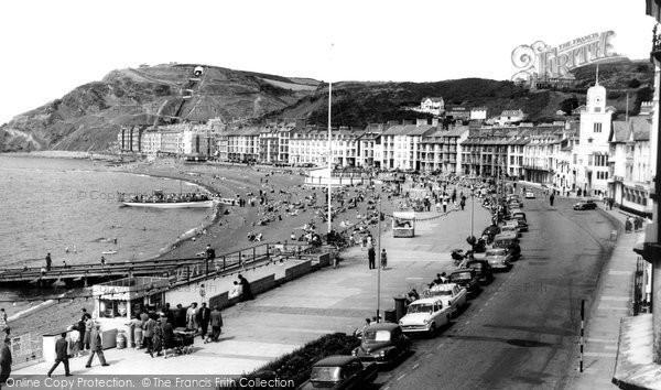 Photo of Aberystwyth, The Promenade 1960