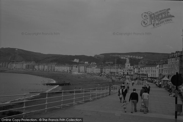 Photo of Aberystwyth, The Promenade 1964