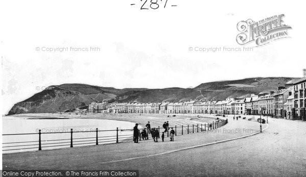 Photo of Aberystwyth, The Promenade c.1885