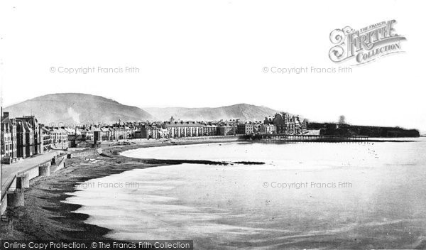 Photo of Aberystwyth, The Promenade c.1885