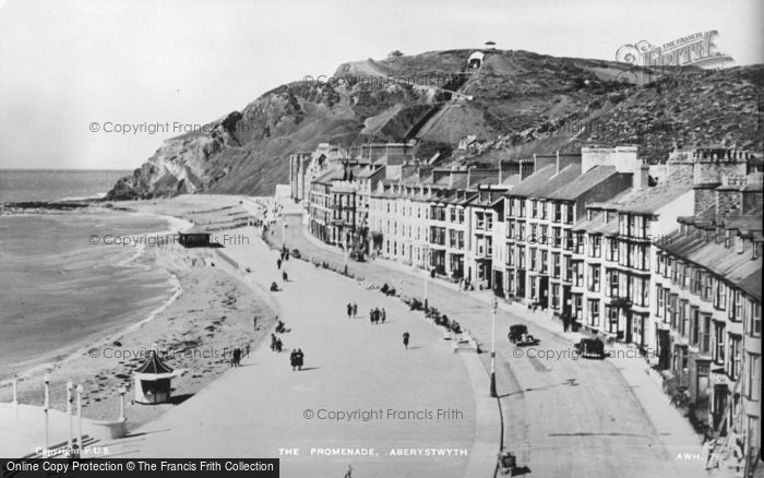 Photo of Aberystwyth, The Promenade c.1930