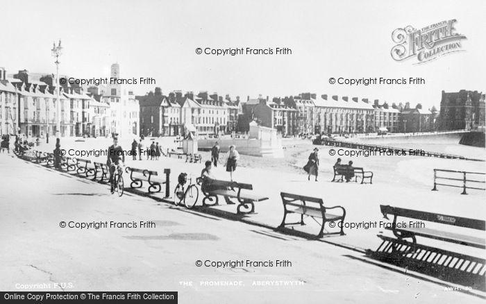 Photo of Aberystwyth, The Promenade c.1930
