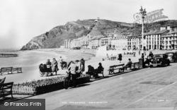 Aberystwyth, The Promenade c.1930