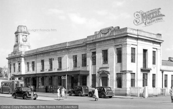 Photo of Aberystwyth, The Railway Station 1949