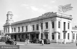 The Railway Station 1949, Aberystwyth