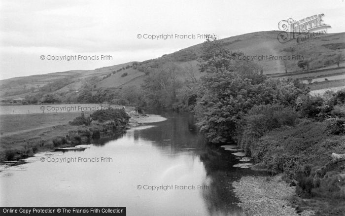 Photo of Aberystwyth, The River From Pen Y Bont Bridge 1949