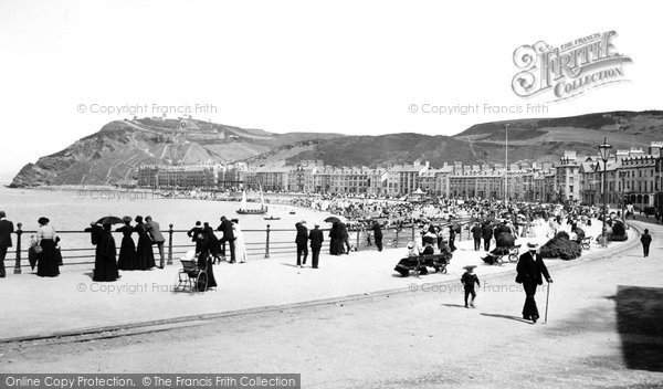 Photo of Aberystwyth, The Seafront 1903