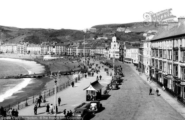 Photo of Aberystwyth, The Seafront 1949