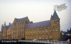 The University Old College And Library 1985, Aberystwyth