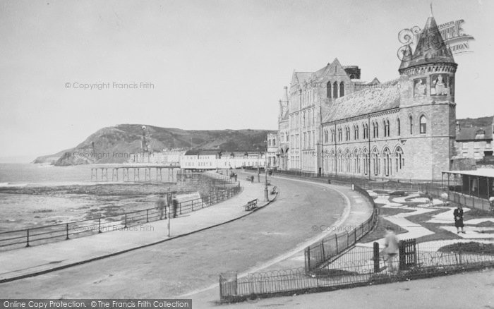 Photo of Aberystwyth, University College Of Wales And Parade Extension c.1950