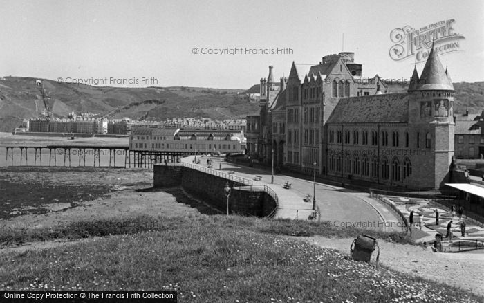 Photo of Aberystwyth, University College Of Wales And Promenade 1949