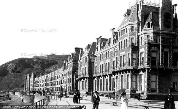 Photo of Aberystwyth, Victoria Promenade 1899