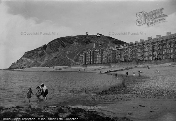 Photo of Aberystwyth, Victoria Terrace 1921