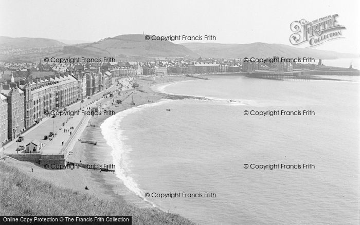 Photo of Aberystwyth, View From Constitution Hill 1949