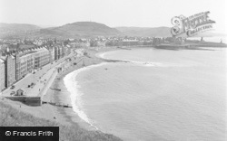 Aberystwyth, View From Constitution Hill 1949