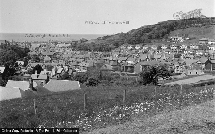 Photo of Aberystwyth, View From National Library 1949