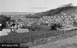 Aberystwyth, View From National Library 1949