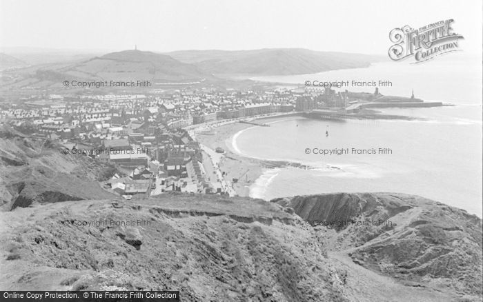 Photo of Aberystwyth, View From North 1949