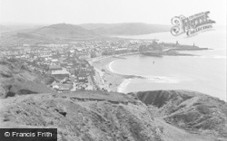 Aberystwyth, View From North 1949