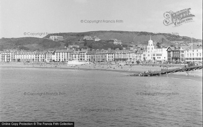 Photo of Aberystwyth, View From Pier 1949