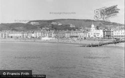Aberystwyth, View From Pier 1949
