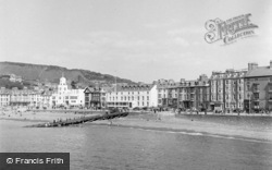 Aberystwyth, View From Sea 1949