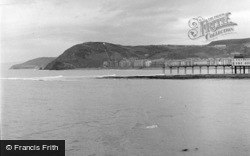 Aberystwyth, View From The Caravan Park 1949