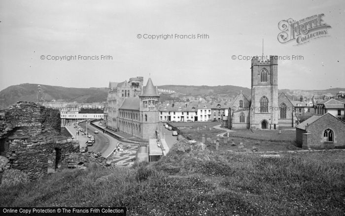 Photo of Aberystwyth, View From The Castle 1964