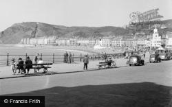 Aberystwyth, View Of Promenade 1949
