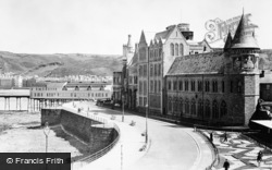 Aberystwyth, View Of Promenade Extension c.1950