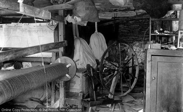 Aberystwyth,Welsh Weaving Mill 1903,Dyfed