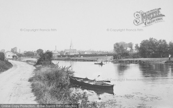 Photo of Abingdon, 1890