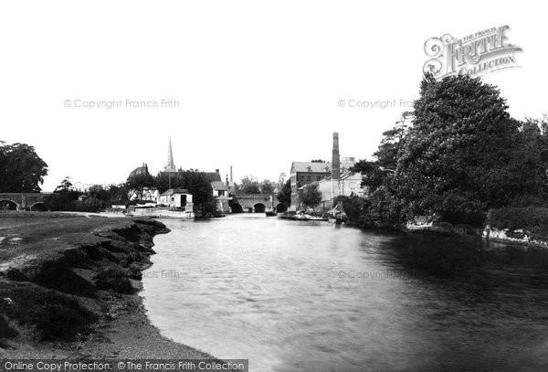 Photo of Abingdon, 1893